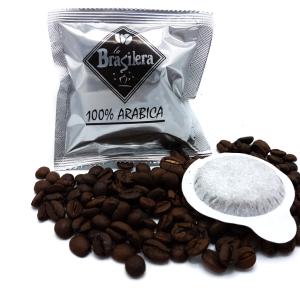 Cialde monodose in carta filtro confezione 150pz Miscela Arabica 100%
