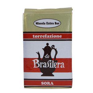 Caffè macinato confezione 500 grammi sotto vuoto miscela Extra Bar La Brasilera