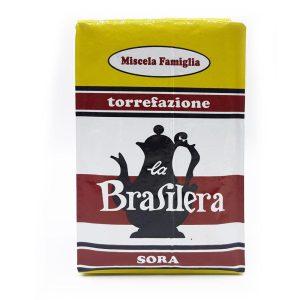Caffè macinato confezione 500 grammi sotto vuoto miscela Famiglia La Brasilera