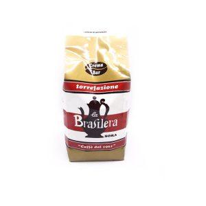 Caffè macinato confezione 500 grammi sotto vuoto miscela Crema Bar La Brasilera