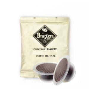 Capsula compatibile Bialetti 100pz miscela Brasilera
